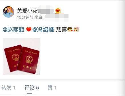 Triệu Lệ Dĩnh - Phùng Thiệu Phong bí mật đăng ký kết hôn, chính thức trở thành vợ chồng? - Ảnh 1.