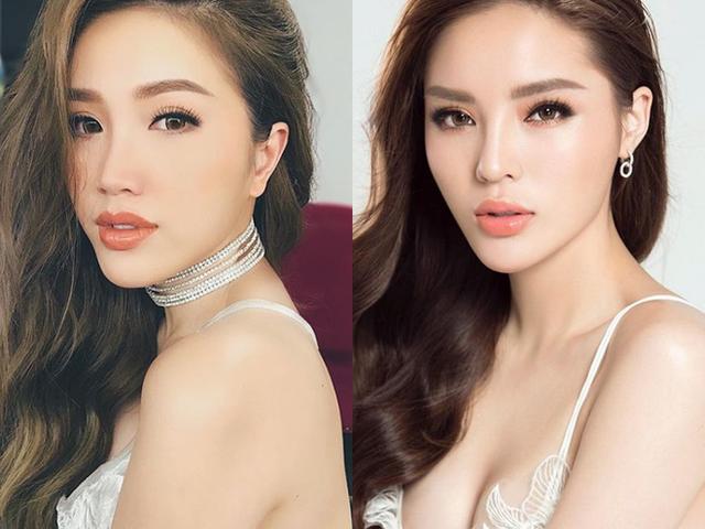 Mất tiền trùng tu nhan sắc, Hoa hậu Kỳ Duyên lại trở nên giống đến khó phân biệt với loạt mỹ nhân showbiz - ảnh 1