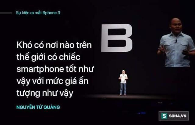 """Màn ra mắt Bphone 3 sẽ trọn vẹn hơn nếu CEO Nguyễn Tử Quảng không quá """"nổ""""? - Ảnh 3."""
