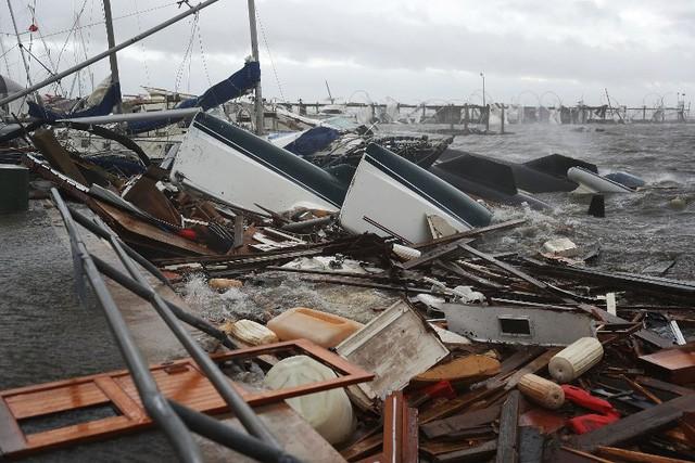 Bão Michael vừa đổ bộ vào Mỹ đáng sợ hơn cả siêu bão Katrina - Ảnh 3.