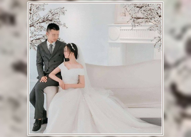 Đôi vợ chồng trẻ chỉ vừa kết hôn được 4 ngày.