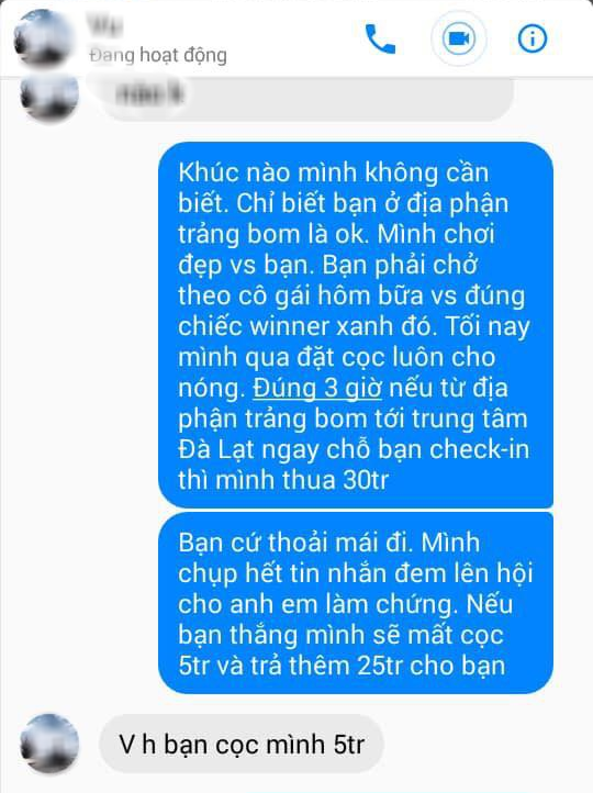 Chỉ vì bài đăng của cô gái trên Facebook mà hai thanh niên cá cược có thể nguy hiểm đến tính mạng - Ảnh 6.