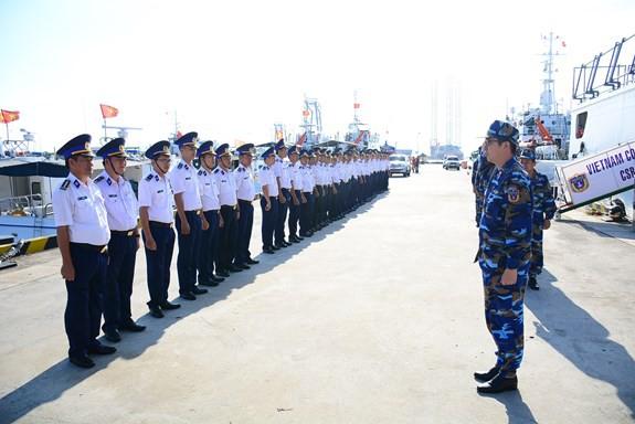 Tàu CSB 8001 hoàn thành tốt đẹp chuyến thăm, giao lưu tại Ấn Độ - ảnh 1