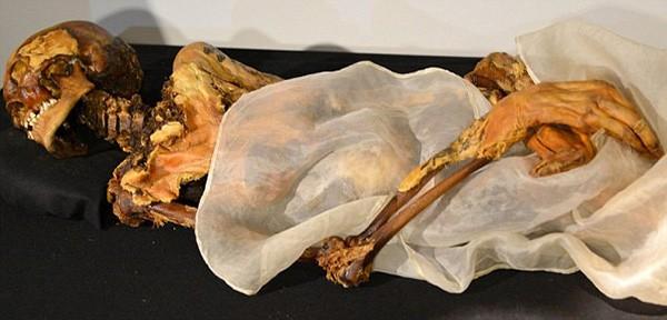 """Lời nguyền ám ảnh về """"xác ướp trinh nữ"""" 2.500 tuổi - ảnh 1"""