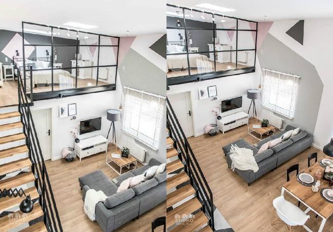 Chỉ vỏn vẹn 30m², căn hộ có gác lửng siêu yêu này sẽ khiến bạn trầm trồ không ngớt - Ảnh 6.
