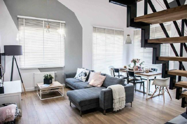 Chỉ vỏn vẹn 30m², căn hộ có gác lửng siêu yêu này sẽ khiến bạn trầm trồ không ngớt - Ảnh 8.