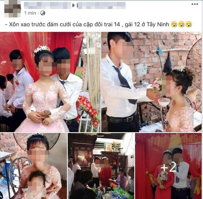 Đám cưới gái 12, trai 14 gây xôn xao ở Tây Ninh: Có thể bị truy cứu trách nhiệm hình sự? - Ảnh 1.