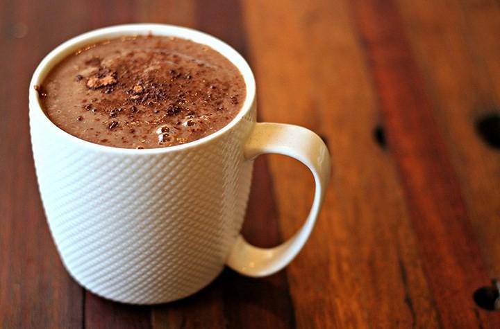 Kết quả hình ảnh cho Hot chocolate cho mùa đông