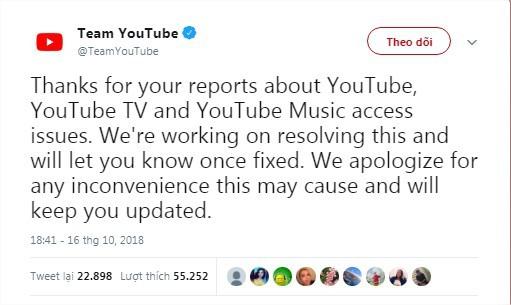 Youtube bị sập trên toàn cầu: Nguyên nhân ban đầu là gì? - Ảnh 7.