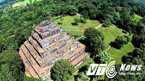 Câu chuyện kỳ lạ về kim tự tháp duy nhất ở Đông Dương - Ảnh 1.