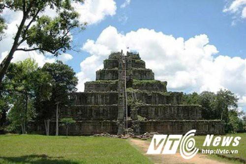 Câu chuyện kỳ lạ về kim tự tháp duy nhất ở Đông Dương - Ảnh 6.