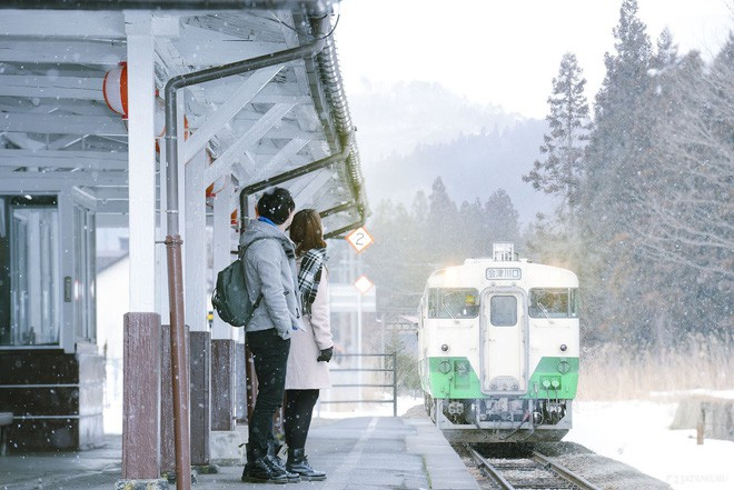 Tadami Line: Chuyến tàu hỏa nhỏ xinh nhất Nhật Bản, đi qua 4 mùa là 4 khung trời khác nhau - Ảnh 25.