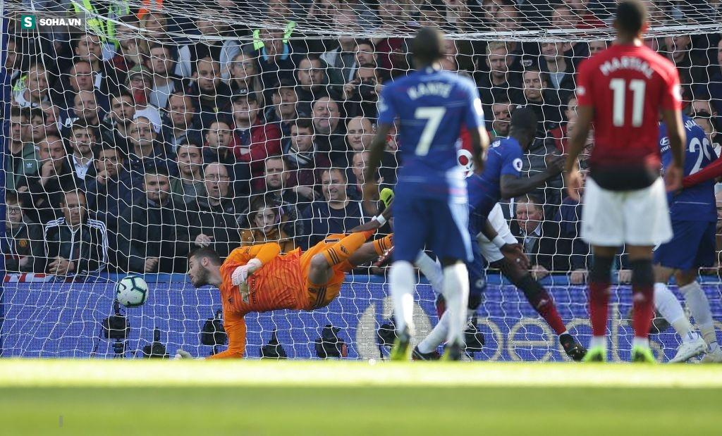Martial tỏa sáng, Mata xuất thần, Man United suýt hạ Chelsea bằng màn ngược dòng kỳ vĩ - Ảnh 1.