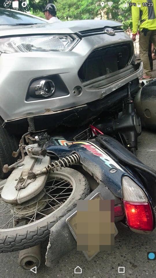 Vụ tai nạn liên hoàn ở Hà Nội khiến mạng xã hội sôi sục cuối giờ chiều chủ nhật  - Ảnh 2.