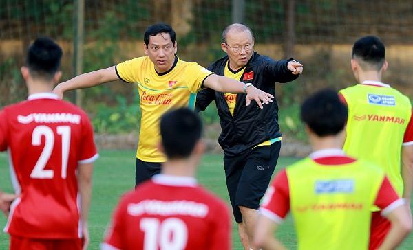 HLV Park Hang Seo cho Trọng Hoàng kết thúc tập huấn tại Hàn Quốc - Ảnh 1.