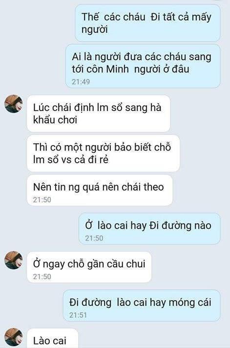 Cô gái 17 tuổi gửi định vị từ Trung Quốc báo tin bị bắt cóc - ảnh 3