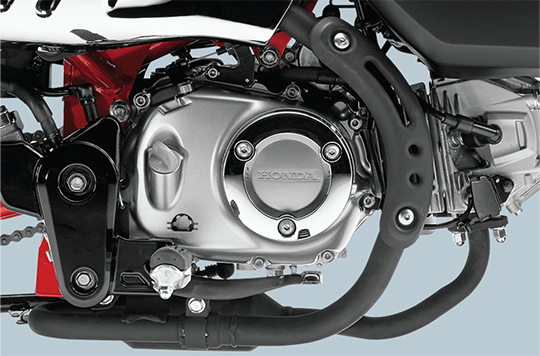 Honda vừa ra mắt chiếc xe khỉ chất chơi, giá gần 90 triệu đồng - Ảnh 4.