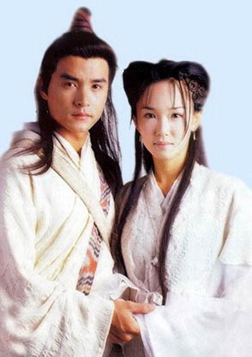 """Tiên đồng ngọc nữ trong truyện Kim Dung: Đẹp đôi đến độ ai cũng mong """"phim giả tình thật"""", có cặp nên duyên vợ chồng - ảnh 2"""
