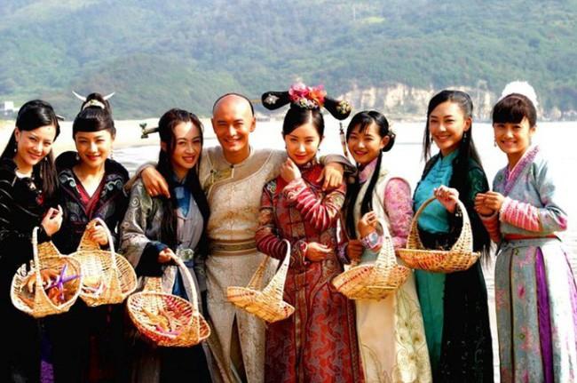 """Tiên đồng ngọc nữ trong truyện Kim Dung: Đẹp đôi đến độ ai cũng mong """"phim giả tình thật"""", có cặp nên duyên vợ chồng - ảnh 18"""