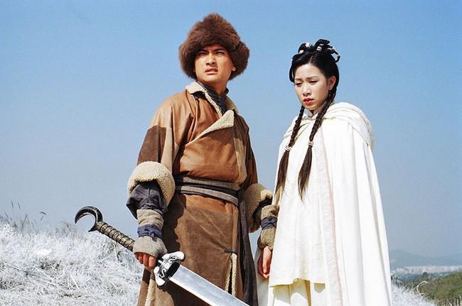 """Tiên đồng ngọc nữ trong truyện Kim Dung: Đẹp đôi đến độ ai cũng mong """"phim giả tình thật"""", có cặp nên duyên vợ chồng - ảnh 19"""