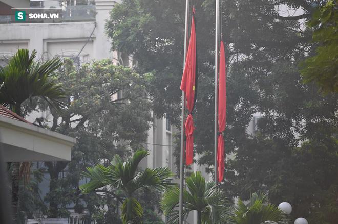 Lễ thượng cờ rủ Quốc tang cố Tổng Bí thư Đỗ Mười - Ảnh 20.