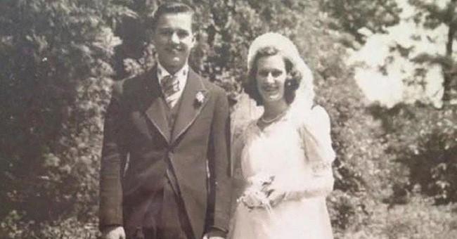 Cặp vợ chồng chung sống hạnh phúc với nhau 75 năm, thời điểm họ nhắm mắt xuôi tay càng chứng minh định mệnh là có thật - Ảnh 1.