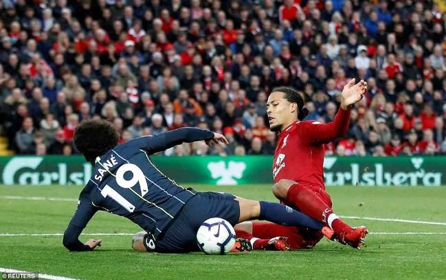 Không thể đánh bại Liverpool trên sân Anfield, Pep Guardiola nói lời xin lỗi Jesus - Ảnh 1.