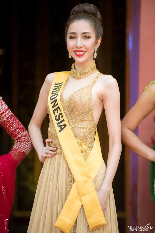 Nhan sắc xấu khó tin của các đối thủ Á hậu Việt Nam tại Hoa hậu Hòa bình Thế giới 2018 - Ảnh 5.