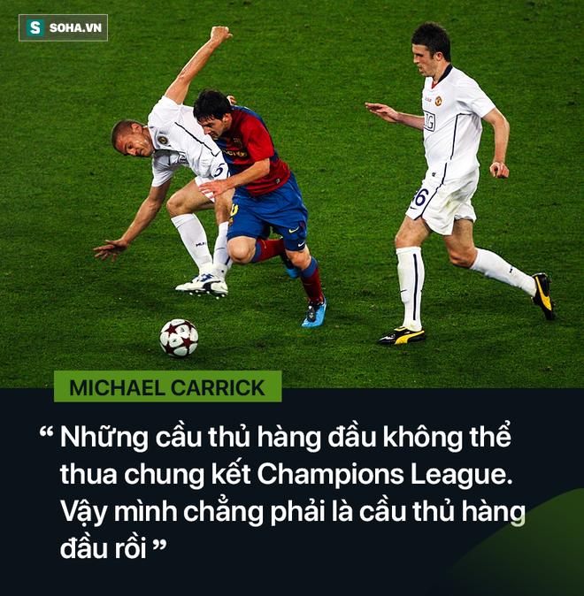 Michael Carrick: Suýt tan tành sự nghiệp bởi 2 năm trầm cảm do Messi gây ra - Ảnh 6.