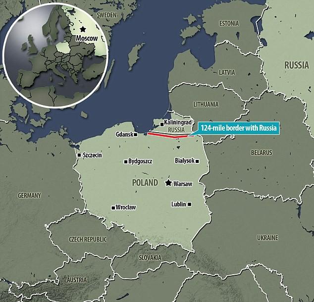 Dừng lại! Khu vực cấm của BQP Nga!: Châu Âu run sợ, bí mật quân sự ở Kaliningrad đã lộ? - Ảnh 1.