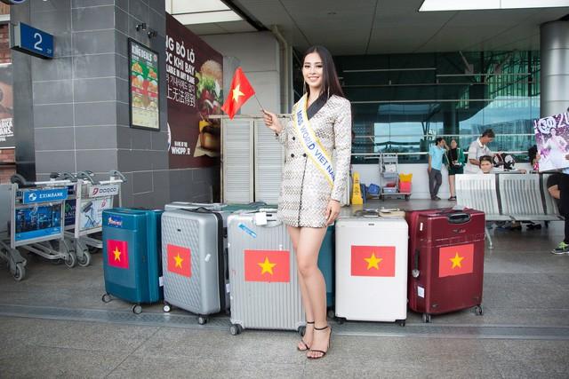 Ngày đầu tiên 'chinh chiến của Hoa hậu Trần Tiểu Vy tại Miss World 2018 như thế nào? - ảnh 3