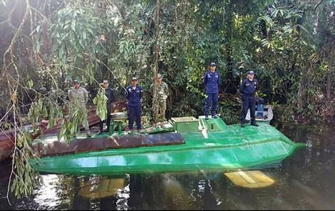 Giải mật chiếc tàu ngầm vận chuyển ma túy ở Colombia  - Ảnh 1.