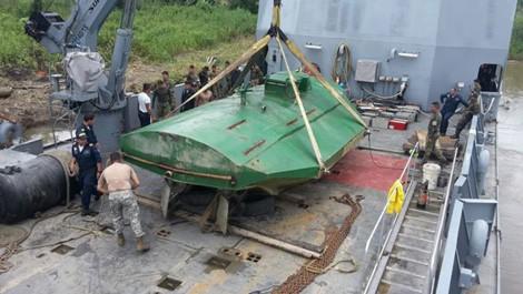 Giải mật chiếc tàu ngầm vận chuyển ma túy ở Colombia  - Ảnh 2.
