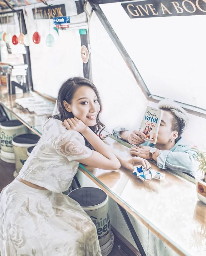 Nhan sắc vợ Kiên nghiện phim Quỳnh búp bê: Đẹp, gợi cảm không kém Đào và My sói - ảnh 6