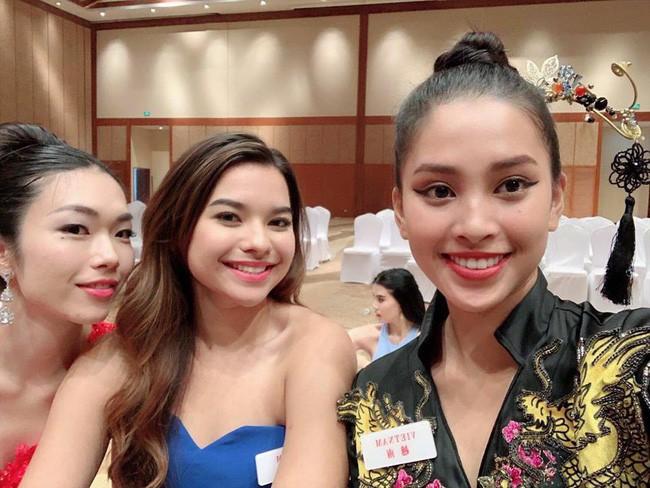 Tiểu Vy khoe mặt mộc không tì vết cùng cơ thể săn chắc tại Miss World 2018 - ảnh 5