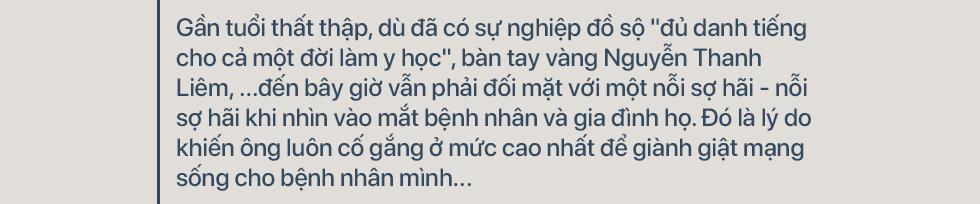 GS. TS Nguyễn Thanh Liêm: Chúng tôi đã làm được nhiều việc mà thế giới chưa làm được - Ảnh 1.