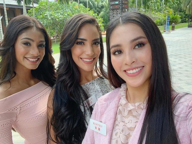 Trần Tiểu Vy nổi bật giữa dàn mỹ nhân Miss World 2018, xuất sắc vào thẳng Top 30