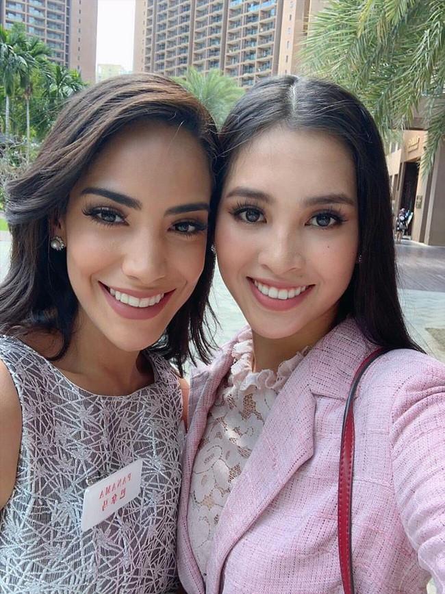 Tiểu Vy nổi bật giữa dàn mỹ nhân Miss World 2018, trải qua thử thách giành suất vào thẳng Top 30 - ảnh 3
