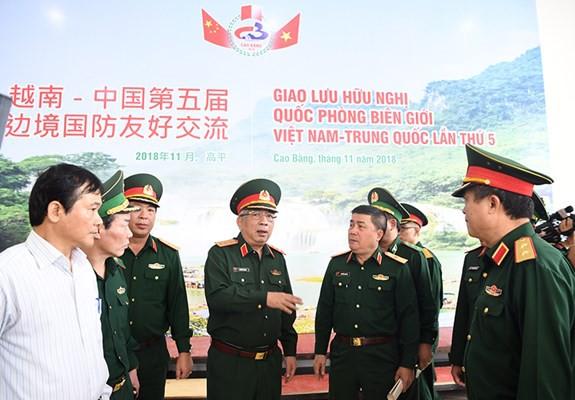 Sẵn sàng cho Giao lưu hữu nghị quốc phòng biên giới Việt-Trung lần thứ 5 - Ảnh 3.