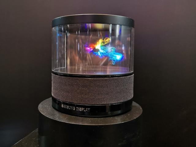 Lộ hình ảnh thiết bị loa thông minh mới của Samsung, nhìn như bước ra từ phim khoa học viễn tưởng - Ảnh 3.