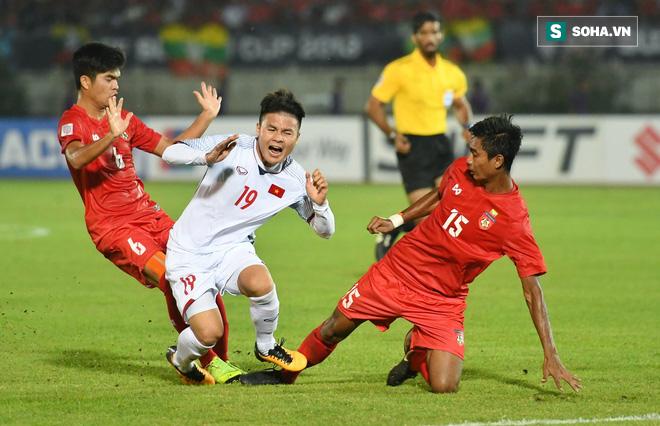 Công Phượng ghi bàn, Việt Nam thắng Philippines 1-0 để giành quyền vào chung kết? - Ảnh 1.