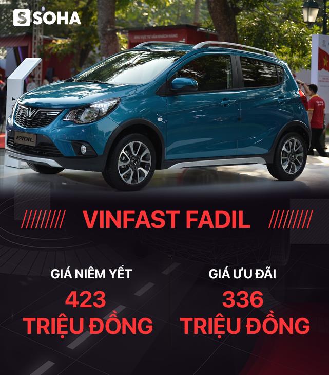 VinFast Fadil: Chỉ cần 20 triệu đồng là có thể sở hữu xe - Ảnh 2.