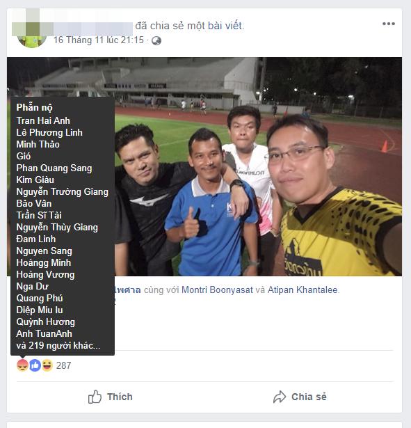 Tìm ra facebook được cho là của trọng tài biên trận Việt Nam - Myanmar, CDM lao vào làm điều xấu xí - Ảnh 3.