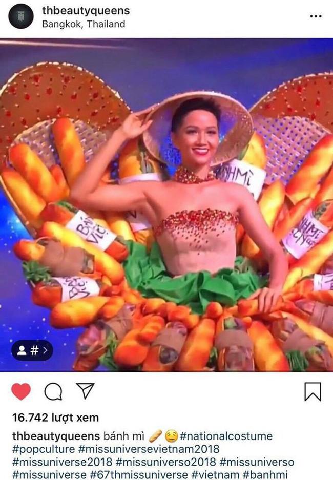 Trong khi khán giả Việt Nam tranh cãi, fan thế giới lại ủng hộ trang phục bánh mì của HHen Niê - Ảnh 2.