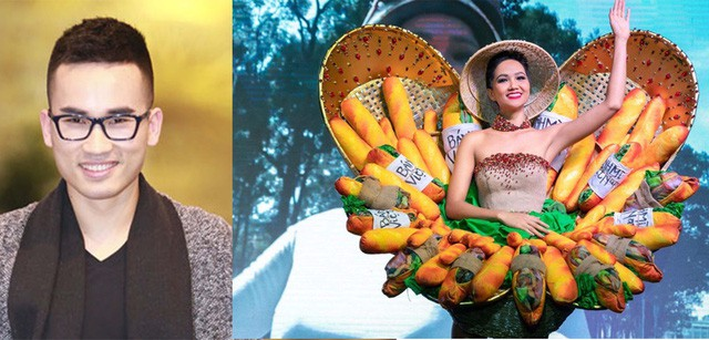 Trang phục bánh mì của HH HHen Niê: Ẩm thực đường phố Việt cần được truyền thông - Ảnh 3.