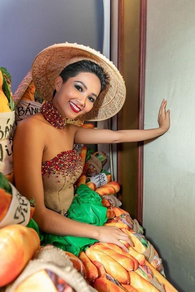 Trong khi khán giả Việt Nam tranh cãi, fan thế giới lại ủng hộ trang phục bánh mì của HHen Niê - Ảnh 5.