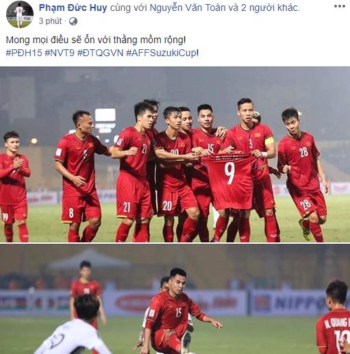 Sao tuyển Việt Nam thi nhau an ủi Văn Toàn - Ảnh 3.