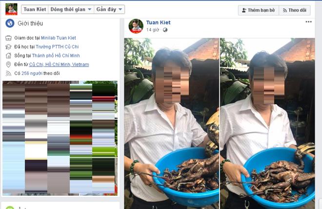 2 con chim bị giám đốc doanh nghiệp giết thịt khoe facebook có phải Hồng hoàng quý hiếm? - Ảnh 2.