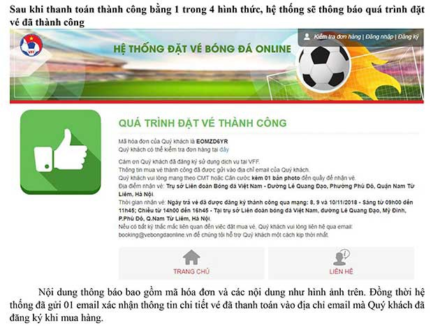 Hướng dẫn chi tiết cách mua vé trận chung kết AFF Cup 2018 Việt Nam vs Malaysia - Ảnh 10.
