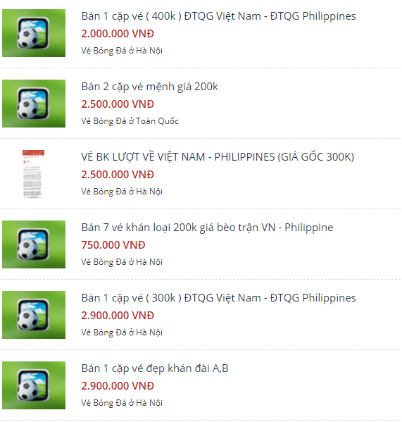 Tạm ngừng bán vé online trận Việt Nam vs Philippines, hàng loạt vé chợ đen xuất hiện - Ảnh 1.